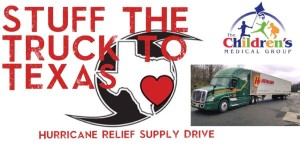 Stuff the Truck to Texas - Children's Medical Group