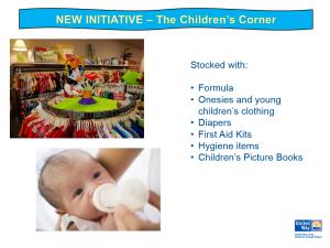 About United Way's Children's Corner.